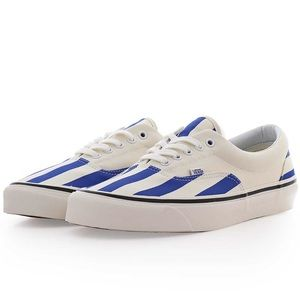 Vans OG Era 95 Skateboard Shoes White And Blue